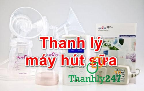 Thanh ly may hut sua