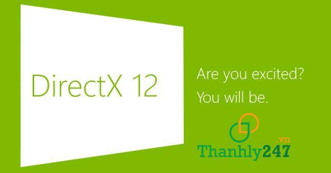 Cài đặt DirectX phiên bản mới nhất